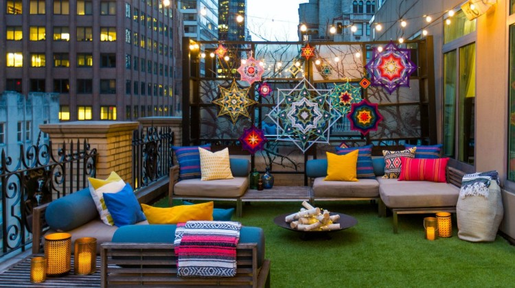 GET YOUR GLAMPING ON AT W NEW YORK