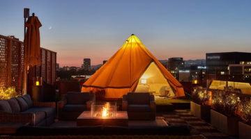 URBAN GLAMPING AT BEVERLY WILSHIRE